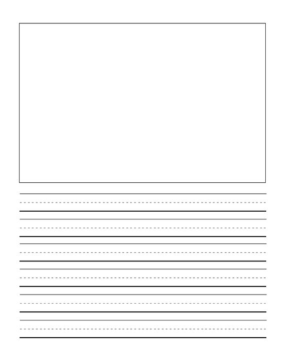 Draw and Journal Pages Printable