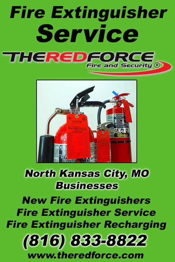 Fire Extinguisher Service North Kansas City, MO (816) 833-8822 This is The Red Force Fire and Security.  Call us Today for all your Fire Protection needs! Experts are standing by...