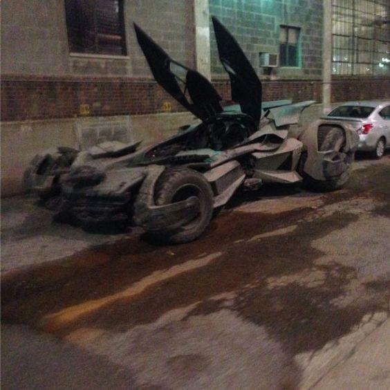 Batmobile, split doors