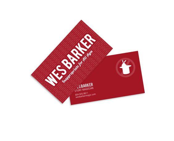 Wes Barker business cards