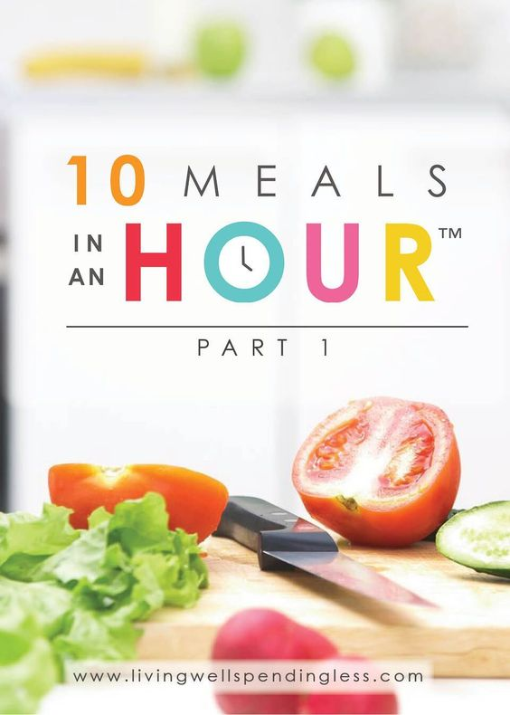 10 Meals in an Hour™ Part 1 | Easy Freezer Cooking Meal Plan | Food Made Simple | Freezer Cooking