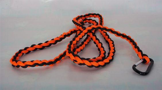 Orange Dog Leash by TheGeekyDog on Etsy, $20.00