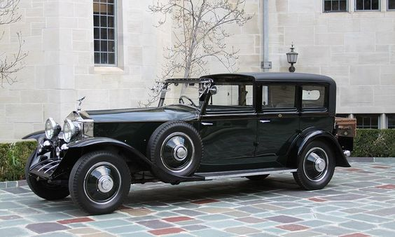 fred astaire 39 s rolls royce phantom town car pvgp concours at the grand prix pinterest. Black Bedroom Furniture Sets. Home Design Ideas