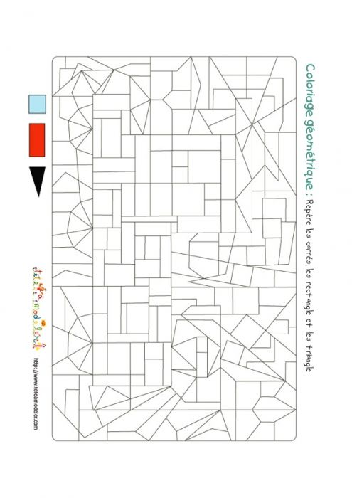 Trains on pinterest - Dessin forme geometrique ...
