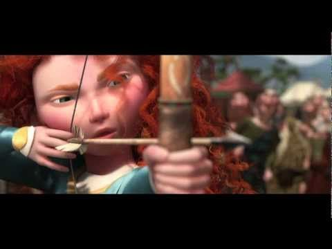 Pixar's Brave, first full scene preview. I'm looking forward to this movie!