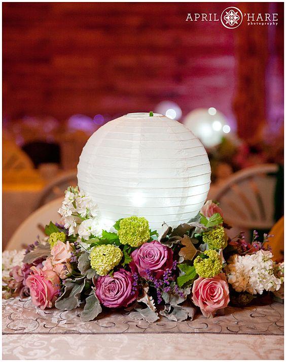 Paper Lantern Table Centerpieces