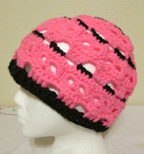 Crochet Skull Hat | My Crocheted Creations For Sale ...