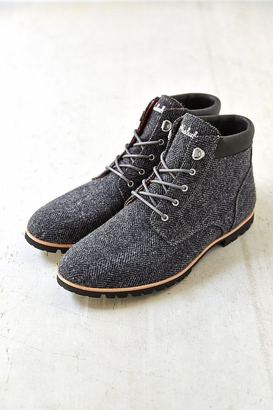 Woolrich Beebe Wool Boot shoes menstyle menswear: