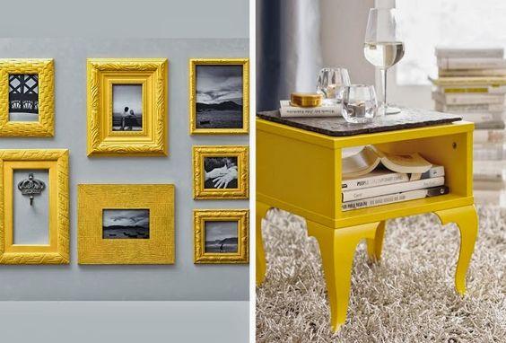Decor: um toque de amarelo