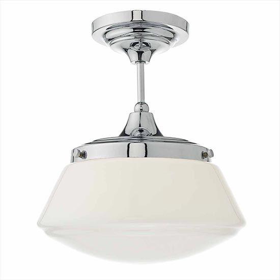 Caden Art Deco Bathroom Lighting In 2020 Bathroom Ceiling Light