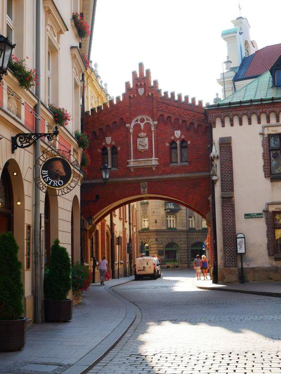Old Krakow streets
