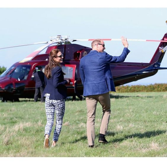 william and kate leaving scilly island