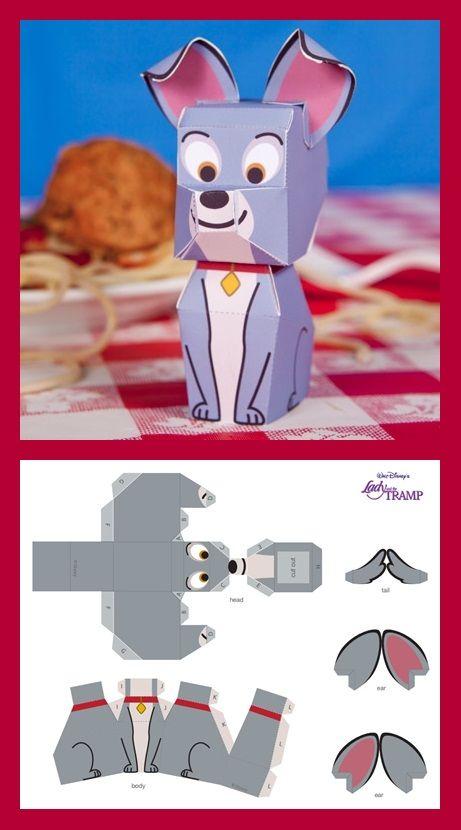 Tramp Cutie Papercraft: