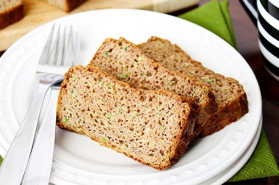 Paleo Classic Zucchini Bread- use sugar-free syrup!