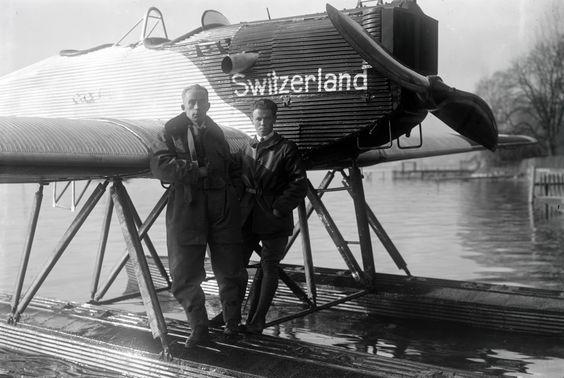 Eine Zeitreise im Flugzeug - 70 Jahre Swiss Air - Fotos