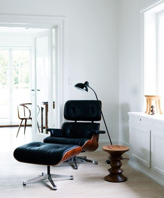 Vitra Loungestoel Eames Lounge Chair Santos Palisander Door Charles Ray Eames In 2019 Furniture Eames Chairs Furniture Design