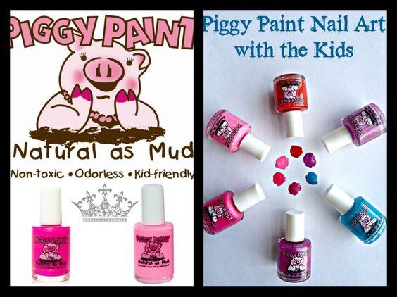 Nontoxic Kid Friendly Nail Polish And Some Cute Nail Art Ideas For The Kiddos # #Trusper #Tip