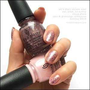 China Glaze- Seas and Greetings- Let's Shellebrate