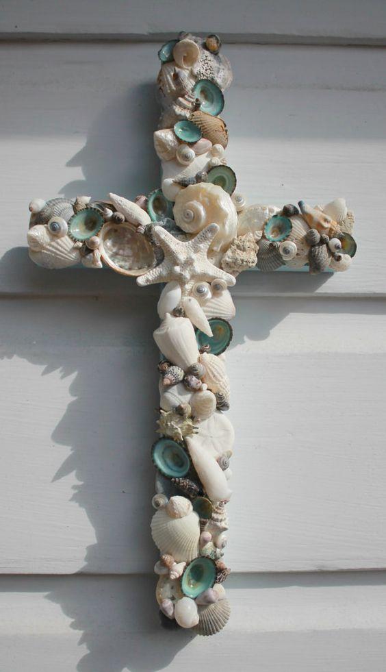 Seashell Cross: