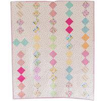 Riley Blake Designs free Quilt Pattern #rileyblakedesigns #freequiltpattern #mellyandme #sweethome
