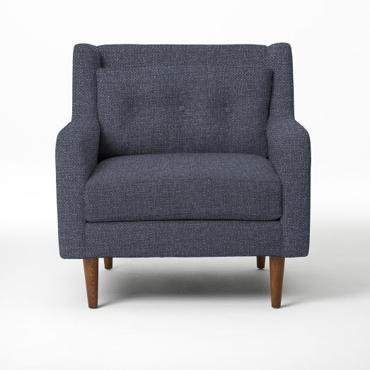 AREA 2  2 chairs for Loud Lounge near kitchen/cafe Crosby Armchair - Solids | west elm