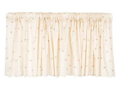 Harriet Bee Steadman Dot Embroidery 92 Curtain Valance Curtains