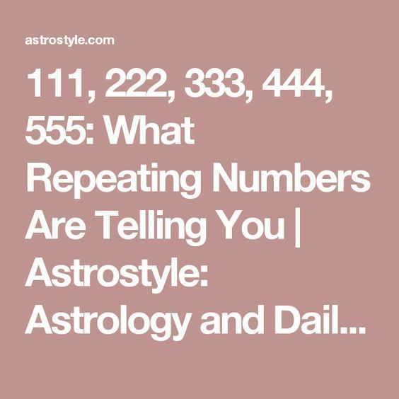 Pin On Numerology