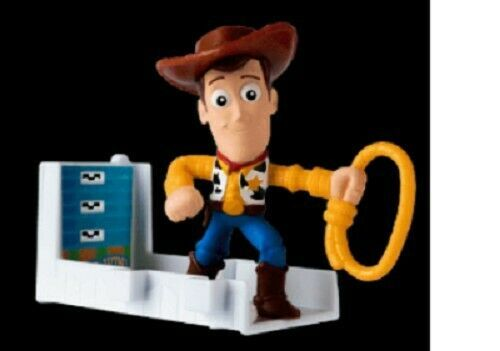 Woody/'s Balloon Boom Toy Story 2019 McDONALD HAPPY MEAL TOYS #5 Cartoon Gifts