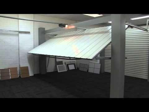Automatic Tilt Garage Door Demonstration Youtube Automatic