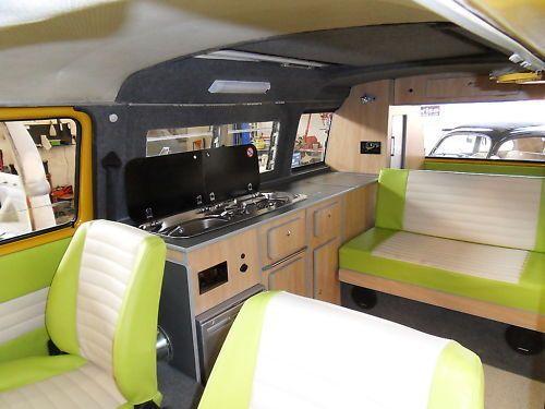 Details about campervan interior furniture for vw type 25 for Vw camper van interior designs