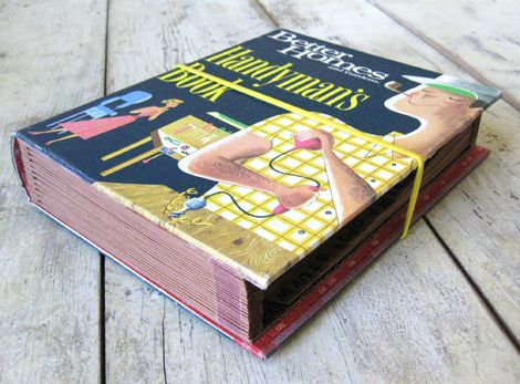 DIY: Vintage Book Expanding File #DIY