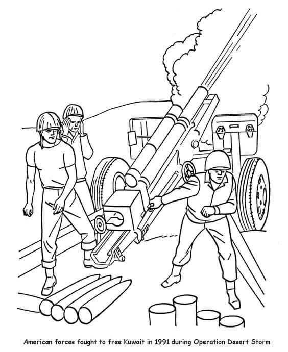 Veterans Day Coloring Pages Egitim