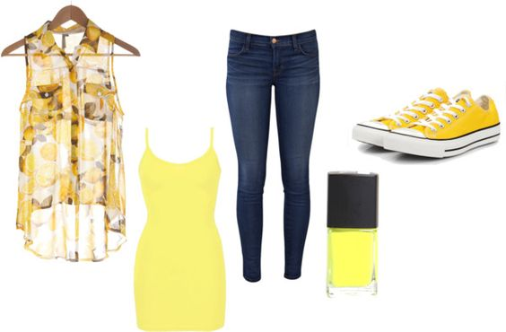 """lemons"" by morgan-eva on Polyvore"