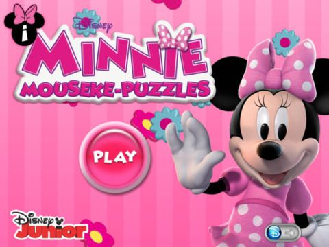 Disney Junior Minnie Mouseke-Puzzles  Mouseke-puzzles are intuitive but challenging, with puzzle pieces that are fun and easy for small hands to move into position. And each puzzle, once successfully completed, magically transforms into a video starring Minnie Mouse and her friends!
