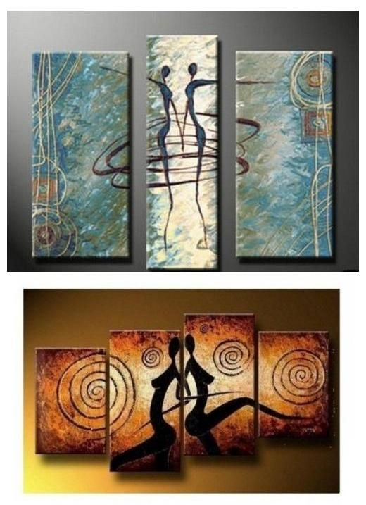 Extra Large Hand Painted Art Paintings For Home Decoration Large