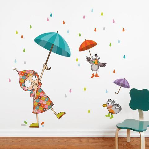 Dancing In The Rain Wall Stickers Dance Dancing In The Rain