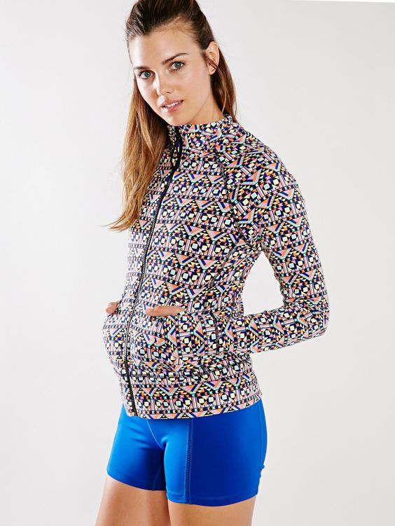 Threads 4 Thought Geo Lori Zip-Up Shirt - Without Walls