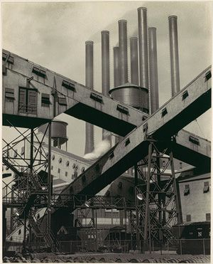 "Charles Sheeler (1883–1965) A contemporary of Strand, Stieglitz, and others, he was associated with a group of artists working in a style termed ""Precisionist."""