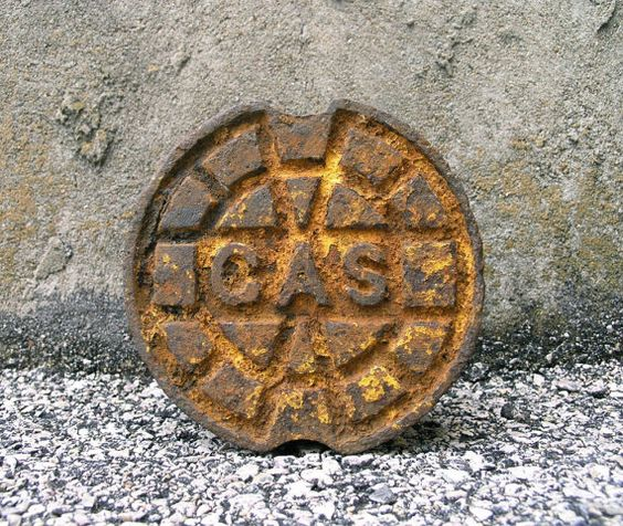 Cast Iron Gas Meter Cover, Garden Stepping Stone, Industrial Style, Patio Decor, Garden Walkway, Door Stopper, Plant Stand, Industrial Decor