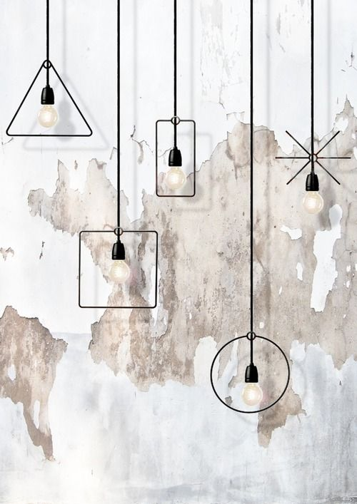 Lampen, Geometrie and Interieur on Pinterest