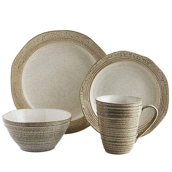 Ivory Midori Dinnerware - Cream - Stoneware