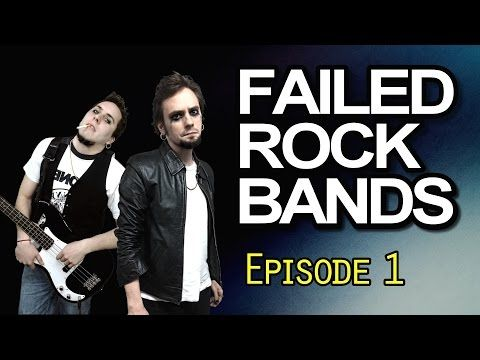 Failed Rock Bands: Episode 1 - #FailedRockBands #FailedRockBandsEpisode1 #Comedy #Funny #Lol #Lmao #Fail #RollingStone #RollingStoneMagazine #RollingStoneCover #Magazine #Cover #Rock #Punk #Goth #Gothic #Industrial #AlternativeRock #HeavyMetal #Hardcore #RockBand #Music #Fail #Youtuber #Youtubers #Gyroscope #GyroscopeEntertainment