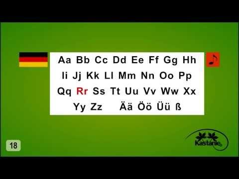 Nauka Jezyka Niemieckiego Lekcja 3 Alfabet Niemiecki