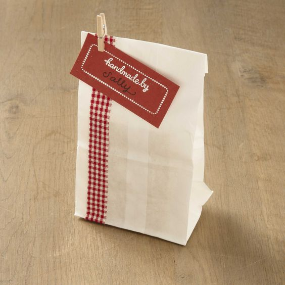 I love using clothespins to accent treat bags and other crafts.