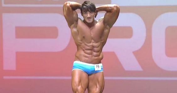 Fisiculturista Coreano faz enorme sucesso com suas apresentações em torneios