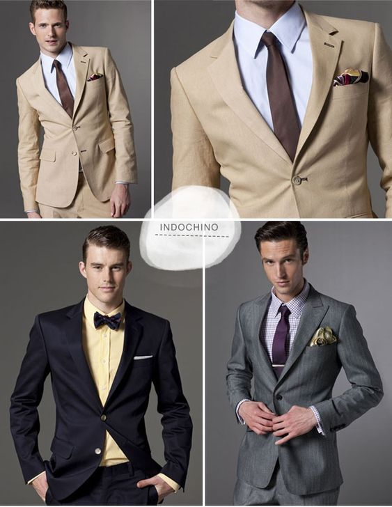 Tailored suits.