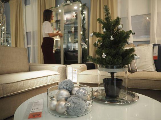 Centros de Natal, por GLIMMER LE BLONDE.  #Natal #decoração #bloggers #ikeaportugal