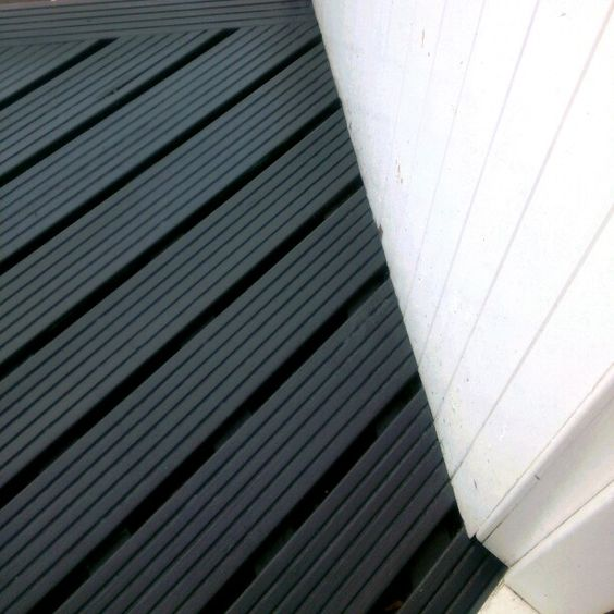 Balcony Gardening Painted Decking Cuprinol Urban Slate