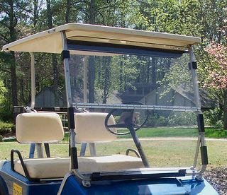 Golf Cart Windshield - READ THIS BEFORE Replacing or  Washing your windshield