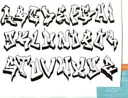 Graffiti Alphabet by